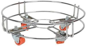 Stainess Steel Gas Cylinder Trolley