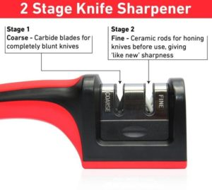 Iktu 2 Slots Knife Sharpener India
