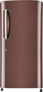 LG Single Door 4 Star Refrigerator Amber Steel GL B221AASX
