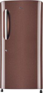 LG Single Door 4 Star Refrigerator Amber Steel GL B221AASX