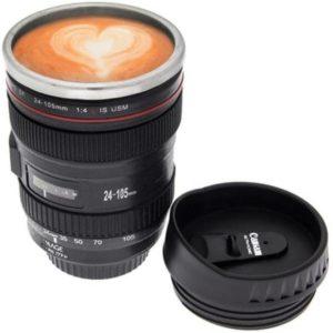 Lens shaped mug in India