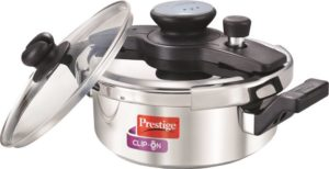 Prestige Clipon 3 liter induction pressure cooker india