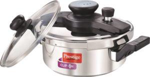 Prestige Clipon 3 liter induction pressure cooker india